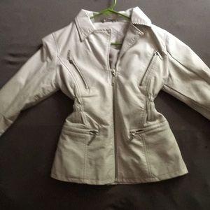 Vintage cream white jacket